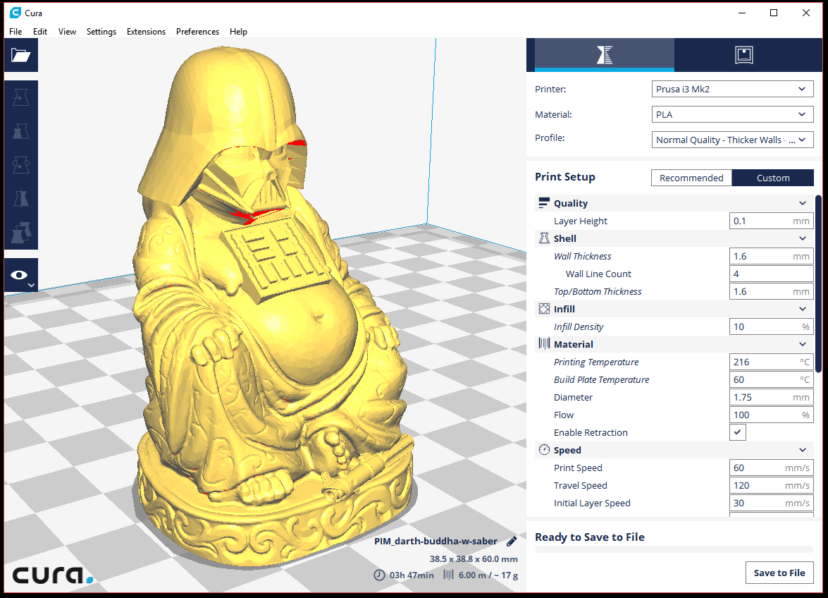 Darth Buddha in Cura