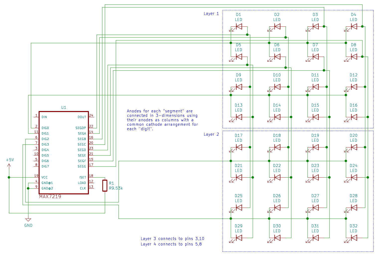 Led Cube Schematic - Wiring Diagram H8